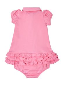 Polo Ralph Lauren Baby Girls Frill Hem Polo Dress