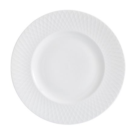 Linea Ceremony fine bone china set of 4 dinner plates