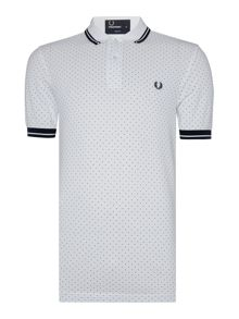 Fred Perry Polka dot pique polo