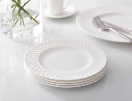 Linea Ceremony fine bone china set of 4 side plates