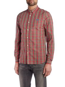 Fred Perry Long sleeve ogilvy tartan shirt