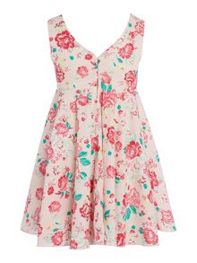 Benetton Girls floral dress