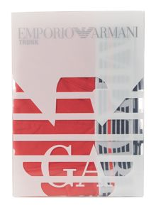 Emporio Armani Emporio and eagle logo trunk