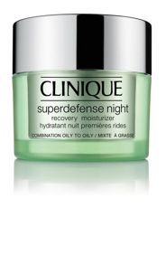 Clinique Superdefense Night Moisturizer - Combination/Oily