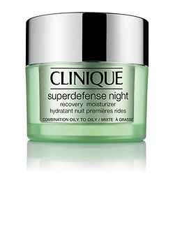 Superdefense Night Moisturizer - Combination/Oily