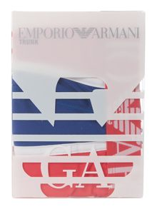 Emporio Armani Micro multi panel piping trunk