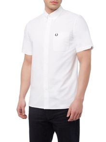 Fred Perry Short sleeve plain oxford