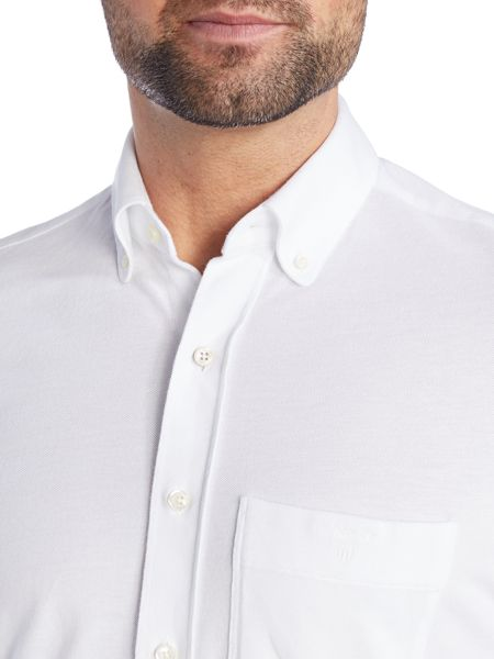 Gant Pique Long Sleeve Shirt