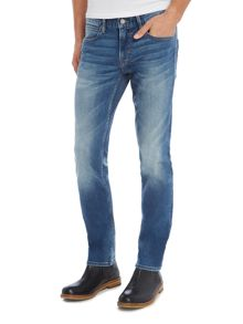 Hugo Boss Orange 63 slim fit dark wash jean