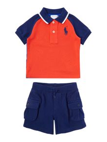 Polo Ralph Lauren Baby Boys Polo & Jersey Shorts Set