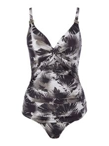 Biba Mono Palm Goddess Twist Swimsuit