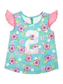 Benetton Girls Floral print vest