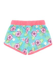 Benetton Girls Floral print jersey shorts