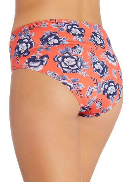 Dickins & Jones Floral Print High Waist Brief