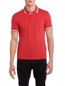 Paddy Regular Fit Tipped Collar Logo Polo