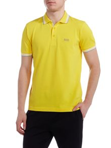 Hugo Boss Paddy Regular Fit Tipped Collar Logo Polo