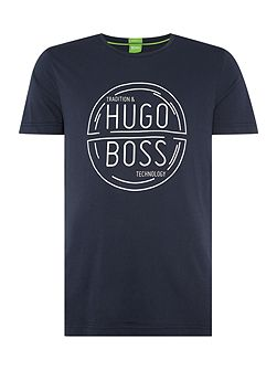 Men's Hugo Boss Tee 1 regular fit circle