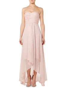Studio 75 Strapless Sweetheart Neck Maxi Dress