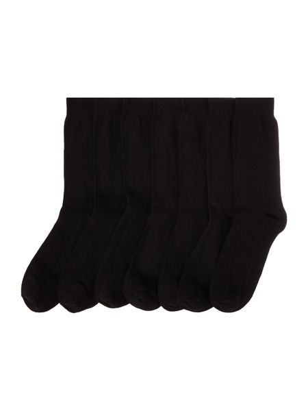 Linea Classic Socks, Pack of 7, One Size