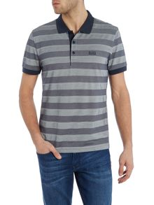 Hugo Boss C-Firenze regular fit striped polo shirt