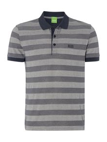 C-Firenze regular fit striped polo shirt