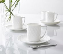 Linea Ceremony fine bone china espresso cup & saucer s4