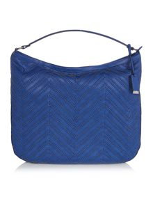 Marella Scorpio woven shoulder bag