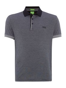 Hugo Boss C-Janis regular fit fine stripe polo shirt