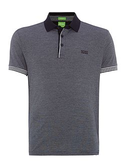 C-Janis regular fit fine stripe polo shirt