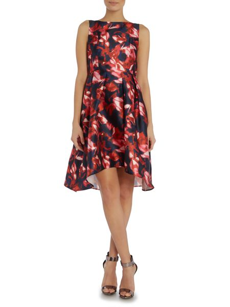 Studio 75 Sleevless Floral Fit and Flare Midi Dress