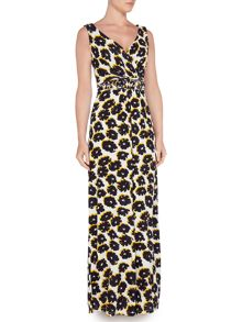 Dickins & Jones Floral Print Maxi Dress