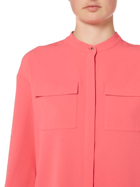 Ellen Tracy Pocket front blouse