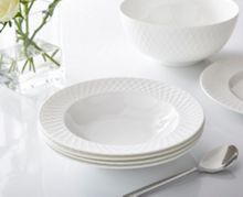 Linea Ceremony fine bone china set of 4 soup bowls
