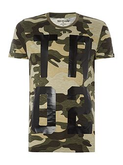 Men's True Religion Regular fit all over camo