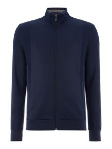 Hugo Boss Skaz funnel neck zip through sweatshirt