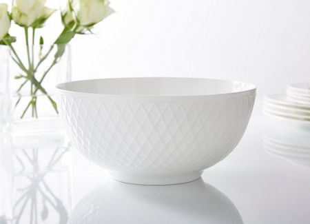 Linea Ceremony fine bone china salad bowl