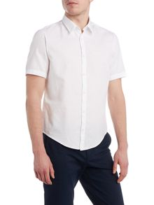 C-Busterino regular fit short sleeve dobby shirt
