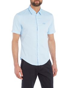 Hugo Boss C-Busterino regular fit short sleeve dobby shirt
