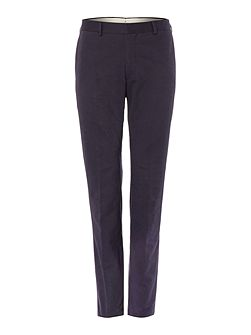 Cotton Slim-Fit Trousers