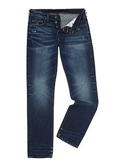 Men's True Religion Geno slim fit new grunge