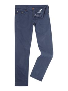 True Religion Geno slim fit overdye navy jeans