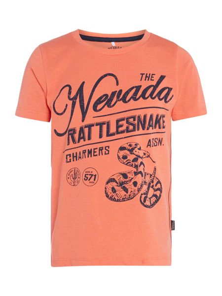 name it Boys Nevada rattlesnake graphic tee