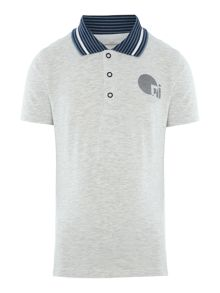 name it Boys Chest logo polo