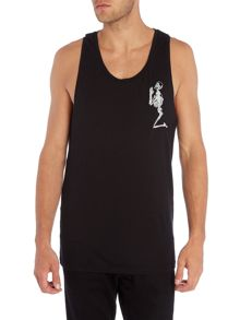 Religion Regular fit praying skeleton vest
