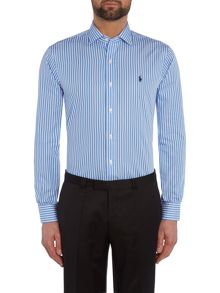 Slim Estate Collar Stripe Shirt