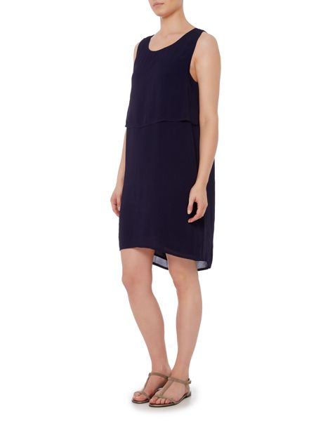 Gray & Willow Delia double layer textured dress