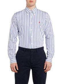 Polo Ralph Lauren Custom Fit Three Stripe Shirt