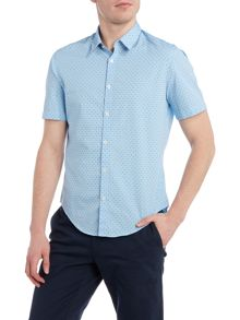 Hugo Boss C-busterino regular fit mini geo print shirt