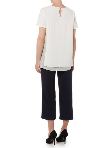 Ellen Tracy Wide leg cropped trouser