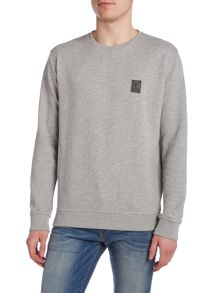 Religion Regular fit square logo crew neck sweat